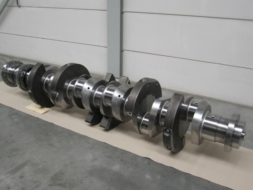 Wartsila 6R32 crankshaft