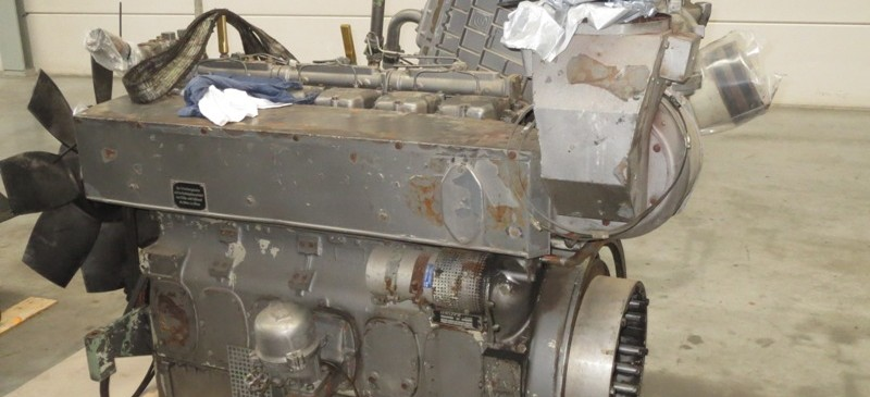 Deutz BA6M816 motore