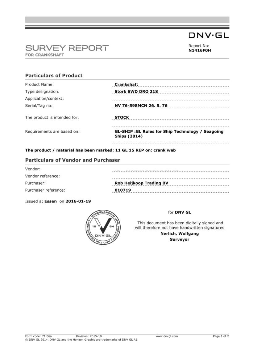 V:VoorraadKrukassenSWD 218DROK ex sn 10962 GL DNV N1416F0H Re